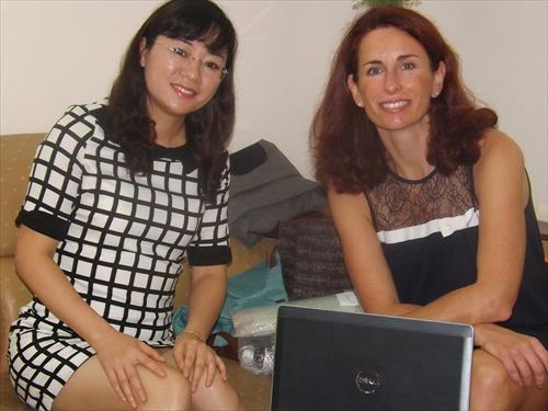 Giám đốc xuất khẩu hãng INELDEA – Pháp đến thăm và làm việc tại  Công ty Cổ phần Dược phẩm YNNO