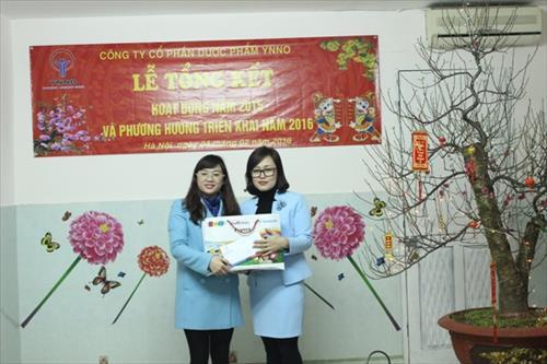 YNNO PHARMA  TỔNG KẾT 2015 VÀ PHƯƠNG HƯỚNG TRIỂN KHAI 2016