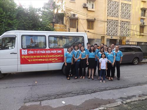 Chương trình từ thiện xã Triệu Đề huyện Lập Thạch, tỉnh Vĩnh Phúc