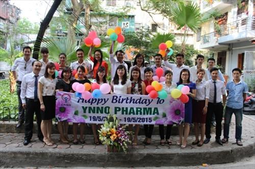 YNNO Pharma  - Kỷ niệm 125 năm sinh nhật Bác và  6 năm sinh nhật Công ty